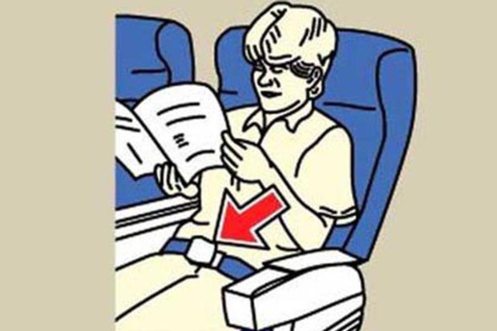 CRNI HUMOR NA 10.000 METARA: Parodija uputstava u avionu, najgore je to što nije sve izmišljeno