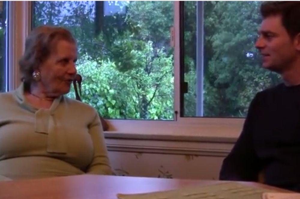 (VIDEO) LJUBAV: Imao je 32 godine i zaljubio se u ženu od 92, a onda...