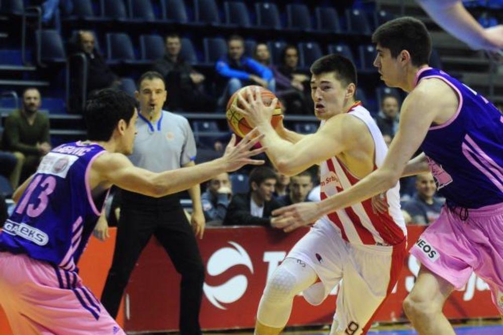 STOTKA CRVENO-BELIH: Košarkaši Zvezde ubedljivi protiv Mega Leksa