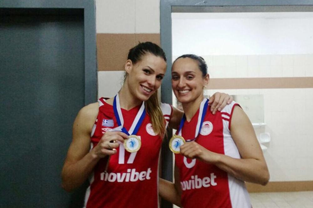 PAO PANATINAIKOS: Ivana Nešović i Jovana Vesović donele Kup Olimpijakosu