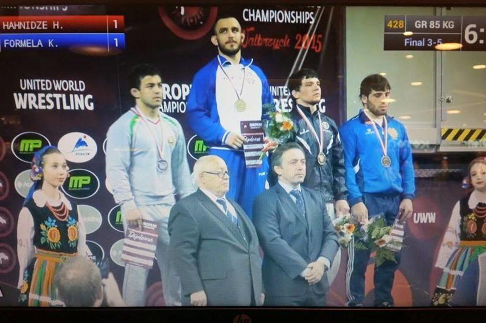 ZLATO I SREBRO: Veliki uspeh reprezentativaca Srbije na prvenstvu Evrope