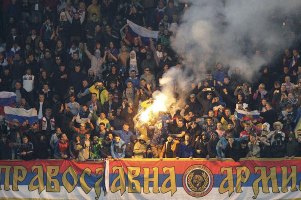 SRAMOTA KOMŠIJA: Crnogorci traže kaznu za Ruse zbog zastave Srbije?