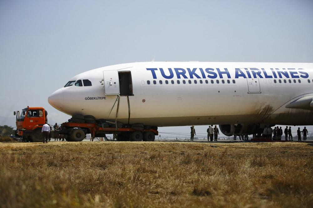 LAŽNA PRETNJA BOMBOM: U avionu Turkiš Erlajnza nije pronađena eksplozivna naprava