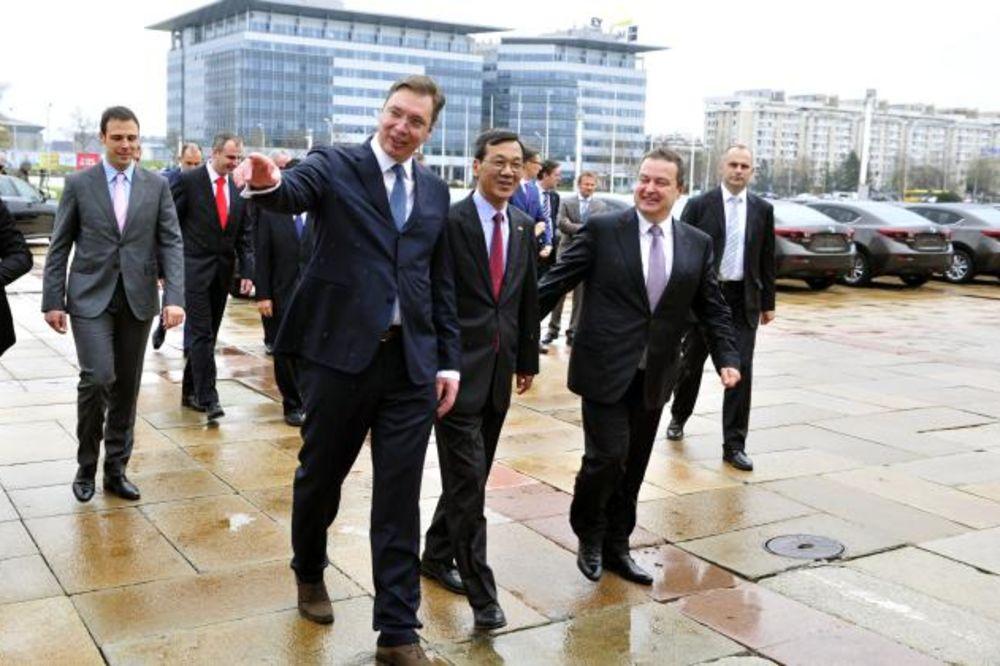 SVEČANA CEREMONIJA: Vučić i Dačić na otvaranju nove zgrade Ambasade Japana