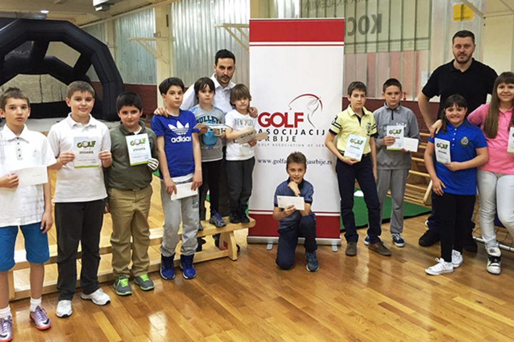 RAZVOJNI PROGRAM: Mali golferi položili prvi ispit