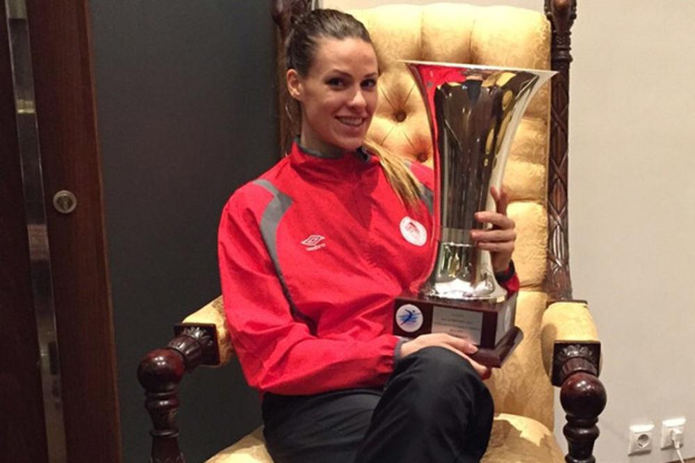 IVANA NEŠOVIĆ: Dobrom energijom do trofeja