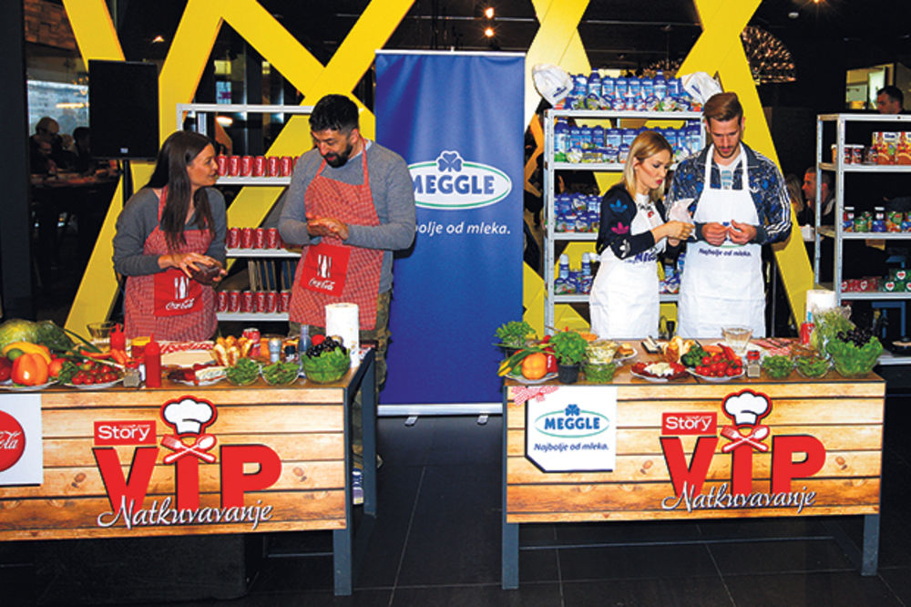 Stori VIP natkuvavanje: Goca tržan najbolja kuvarica