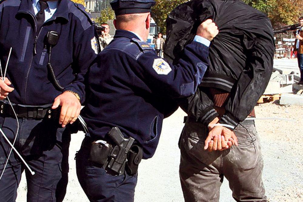 Srbin uhapšen na Kosovu: Rasturao drogu, pao u saobraćaju