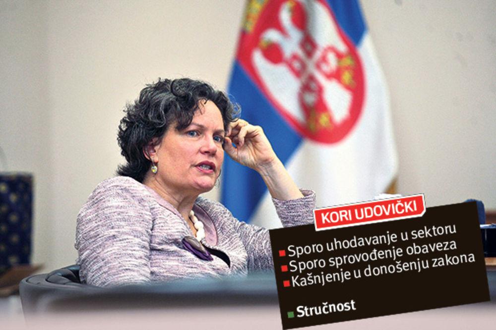 REKONSTRUKCIJA VLADE: Šut-karta za Kori Udovički?