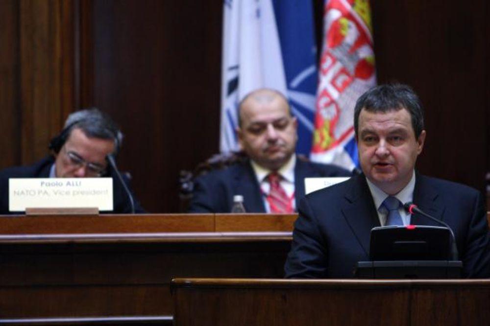 Dačić: Srbija je protiv formiranja vojske Kosova