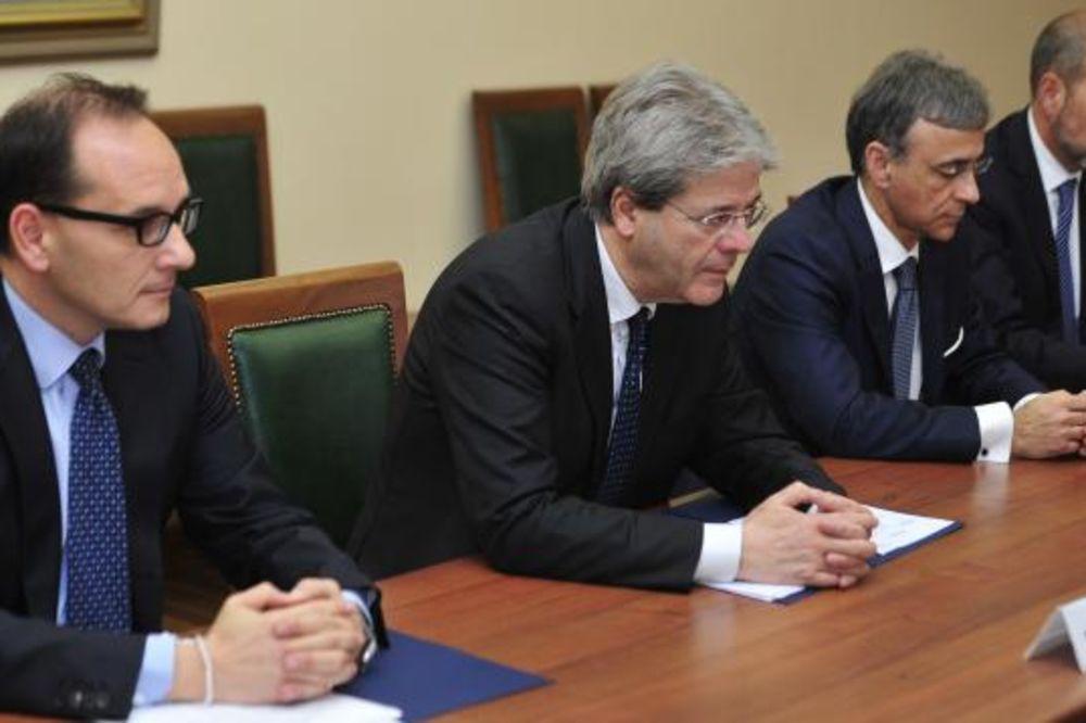 ĐENTILONI U BEOGRADU: Italija je prvi ekonomski partner i najveća podrška Srbije ka EU