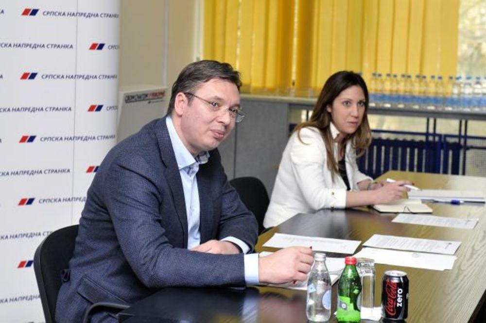 Vučić: Šešelja nećemo hapsiti na prepad!