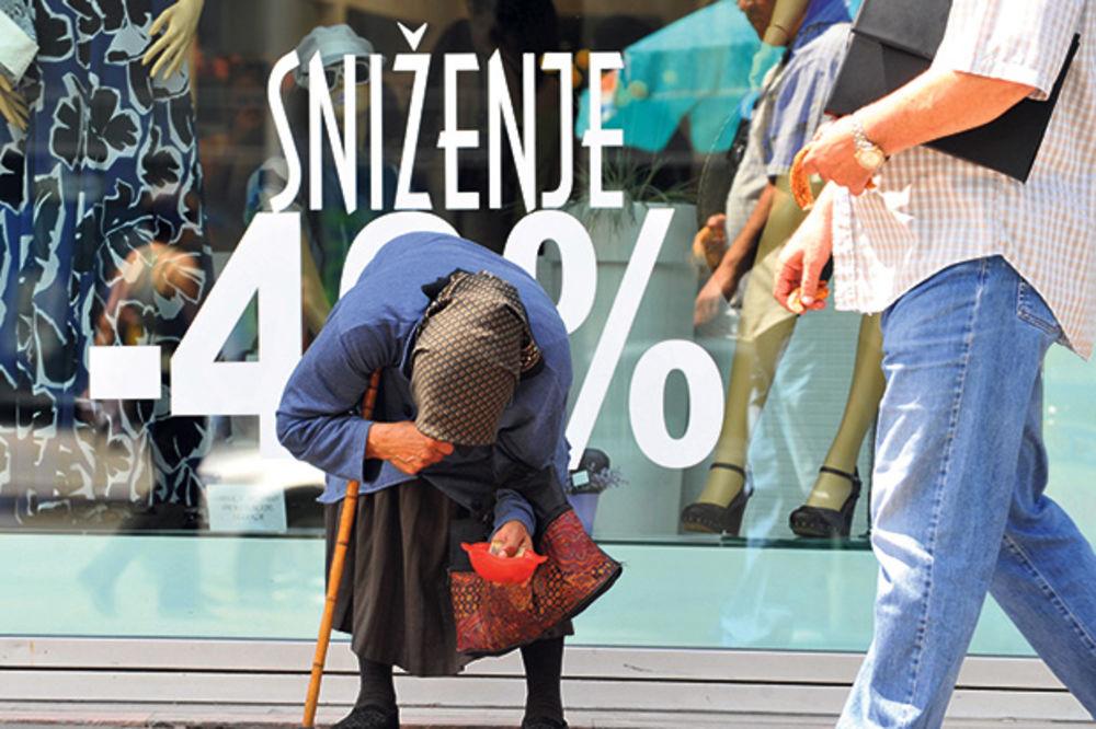 BEDA: Svaki četvrti Srbin na ivici siromaštva