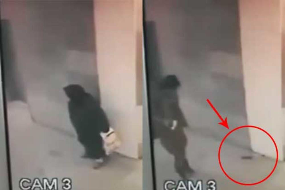 (VIDEO) NA SRED BOLNICE: Obavila veliku nuždu pred svima, a niko nije primetio!