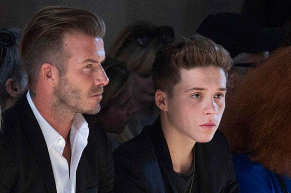 KAKAV BLAM: Dejvid Bekam osramotio sina pred milionima gledalaca