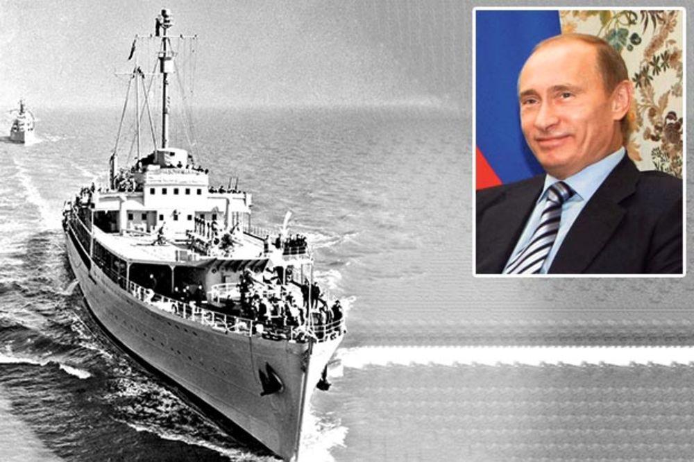 Putin kupuje Titov brod?