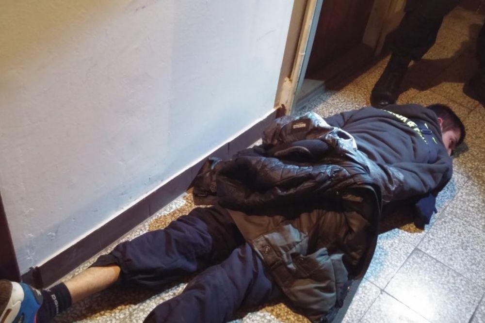 (VIDEO) SPEKTAKULARNA AKCIJA: Novosadska policija sprečila krvavi oružani obračun!