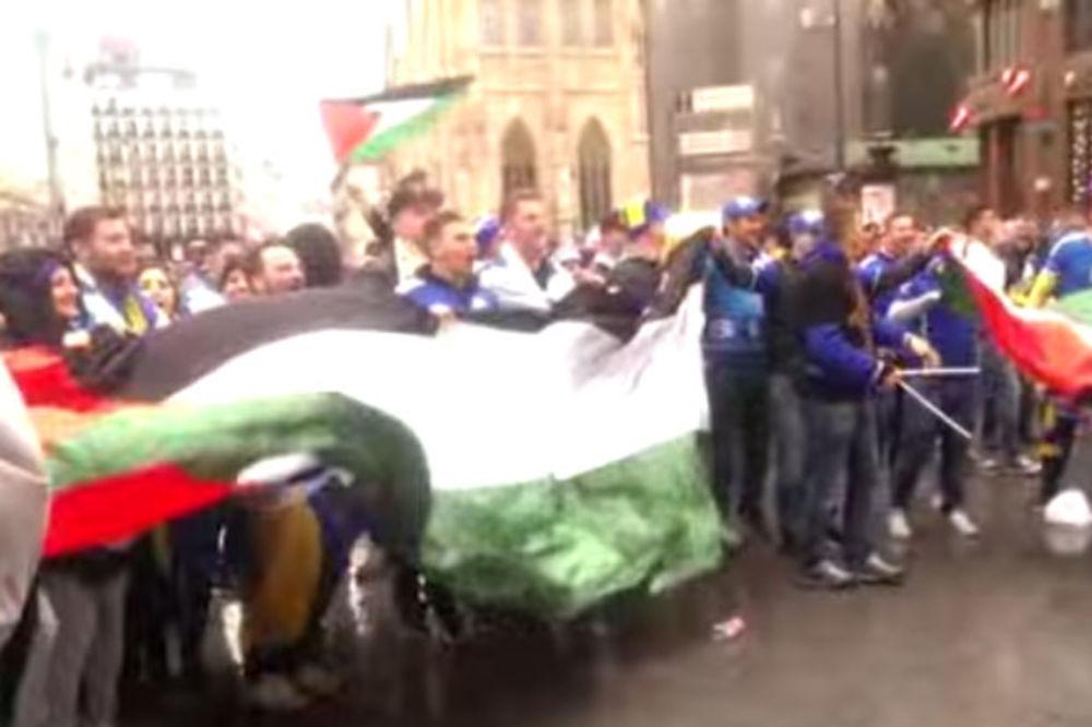 (VIDEO) BOSANSKI HULIGANI UZVIKIVALI BEČOM: Ubij, ubij Židova!