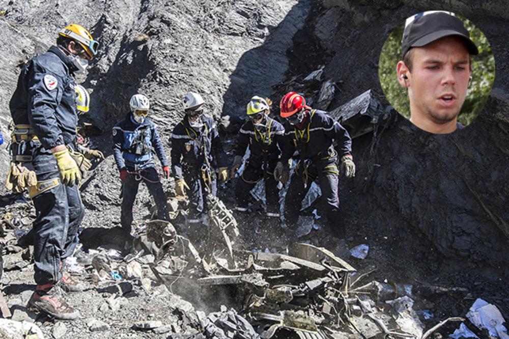 (FOTO) DRUGA CRNA KUTIJA POTVRDILA: Lubic jeste namerno zario avion u Alpe i još je ubrzavao!