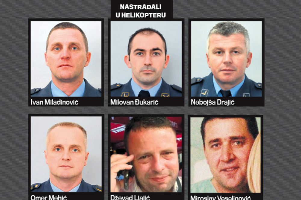 MEDALJE ZA HRABROST: Nikolić posthumno odlikovao posadu i lekare iz helikoptera