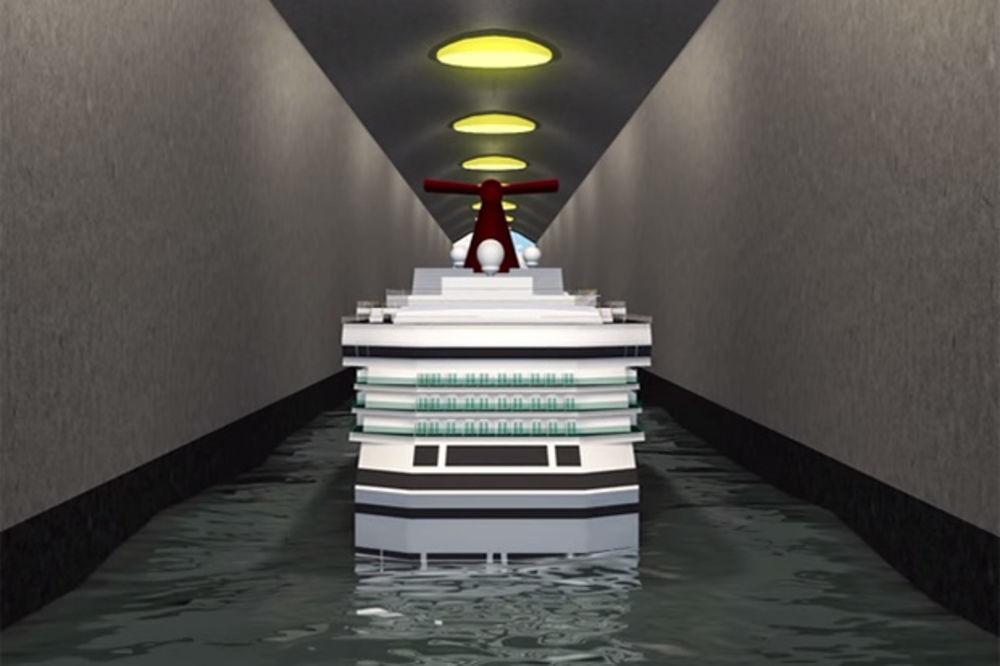 (VIDEO) PODUHVAT ZA GINISA: Ovo je prvi tunel za brodove, a grade ga Norvežani