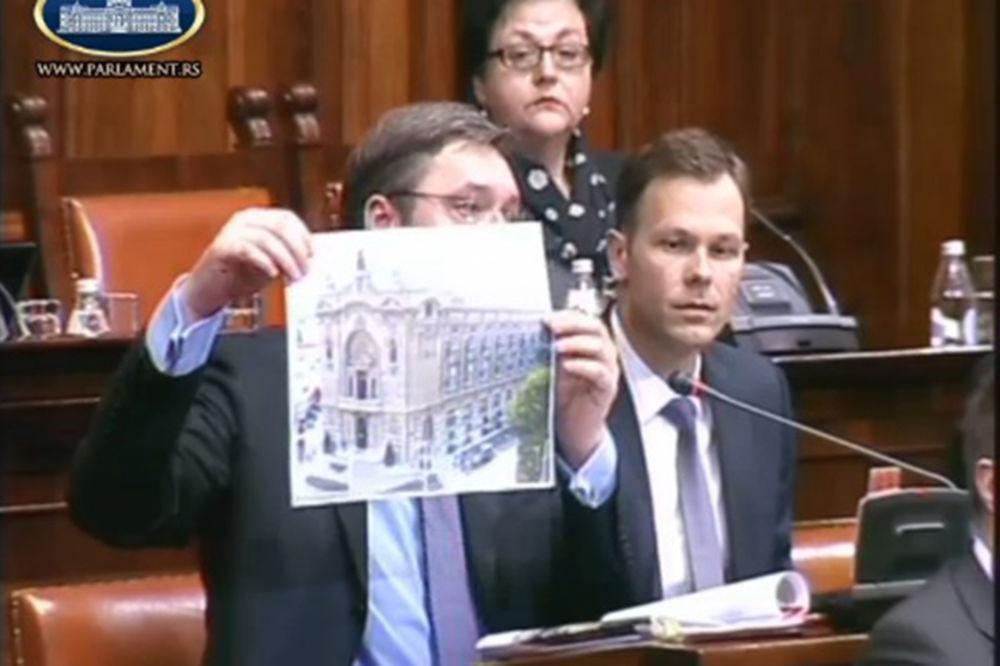 VIDEO SKUPŠTINA O BEOGRADU NA VODI: Vučić pozvao DS i opoziciju da kontrolišu izgradnju!