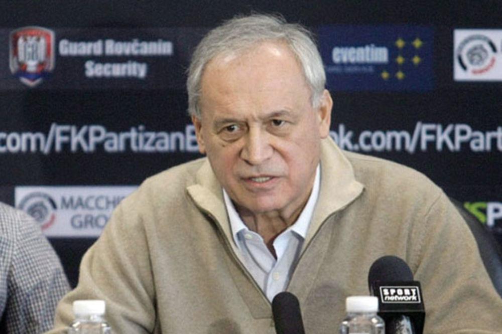 MILORAD VUČELIĆ PREDLOŽIO: Partizan zove čelnike Zvezde na detektor laži