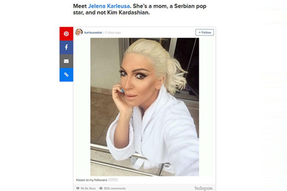 (FOTO) AMERI PROTIV KARLEUŠE: Ova žena nije Kim Kardašijan!