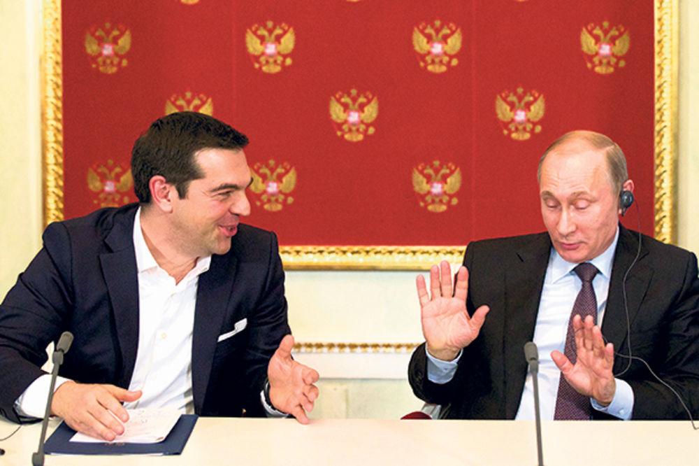 PUTIN RAZGOVARAO S CIPRASOM: Podržavamo grčki narod!