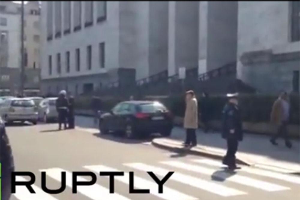 (VIDEO) UHAPŠEN REVOLVERAŠ IZ MILANA: 3 čoveka upucao u zgradi suda