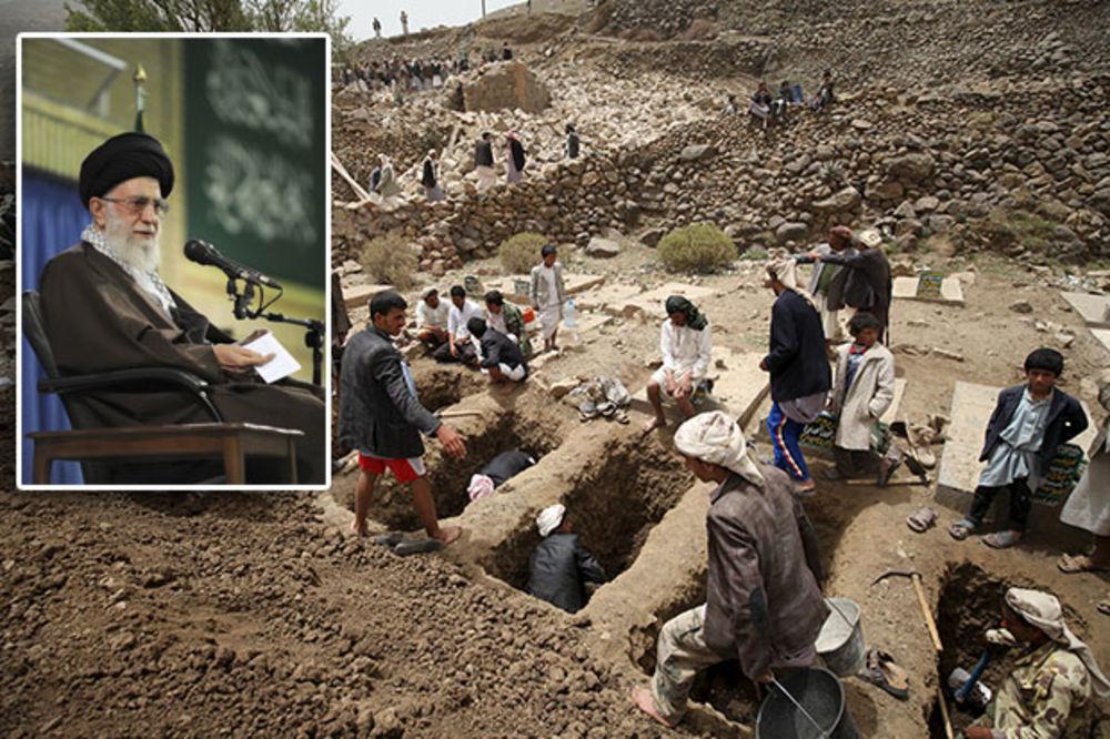AJATOLAH ALI HAMNEI: Agresija Saudijske Arabije na Jemen je genocid!