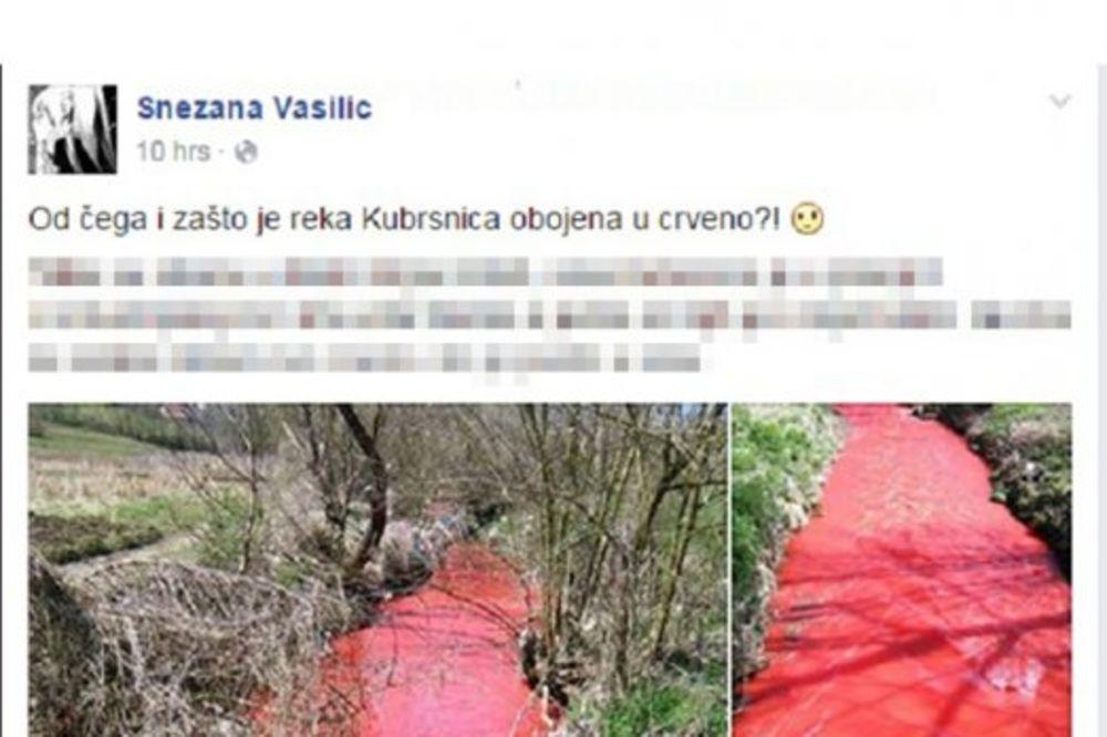 Kubršnica uplašila meštane (Foto: Facebook)