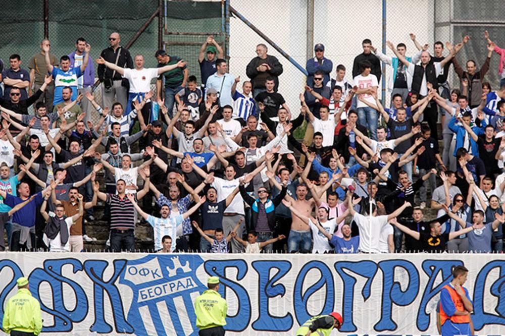OGLASILI SE NAVIJAČI: Bojkot utakmice OFK Beograd - Partizan