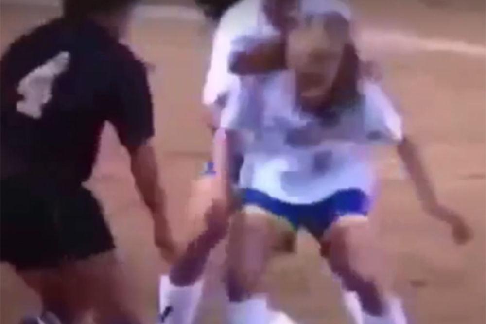 (VIDEO) POKUŠAJTE DA PONOVITE OVAJ DRIBLING: Pogledajte kakavu majstoriju je izvela mala fudbalerka
