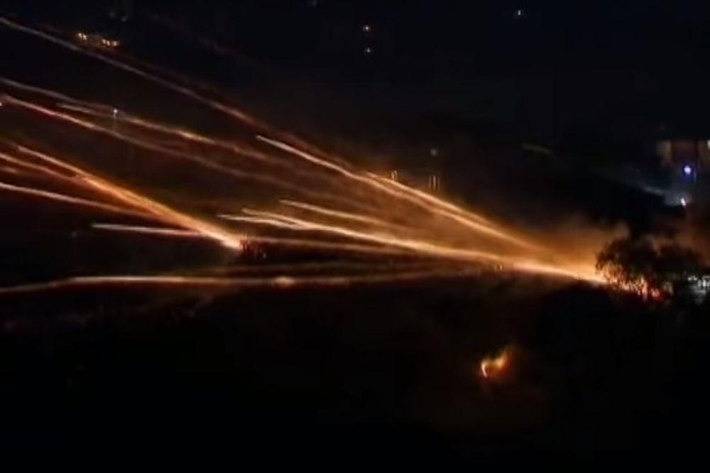 (VIDEO) USKRŠNJI RAT U GRČKOJ: Desetine hiljada raketa na nebu iznad Vrontadosa!