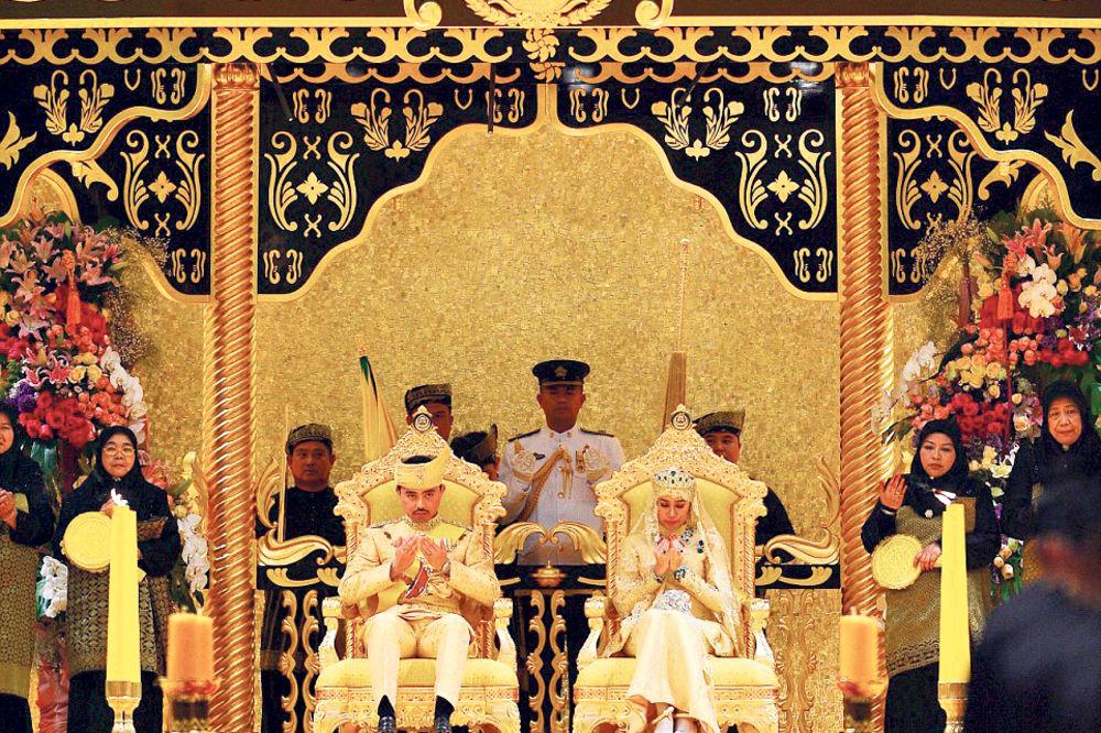 SVADBA VEKA: Sultan od Bruneja za venčanje iskeširao milione evra!