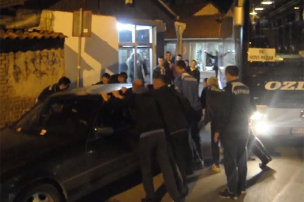 (VIDEO) MERCEDES NA PUTU: Pogledajte muke fudbalera Novog Pazara po povratku iz Jagodine