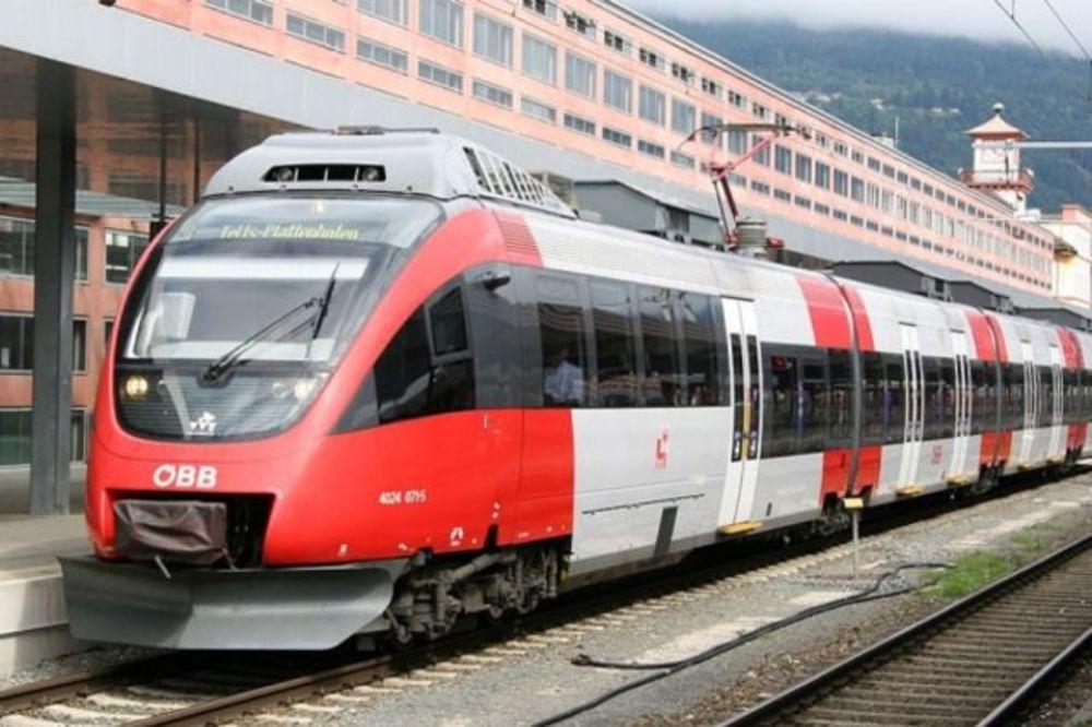 REKORDERI U EU: Austrijanci se najčešće voze vozovima!