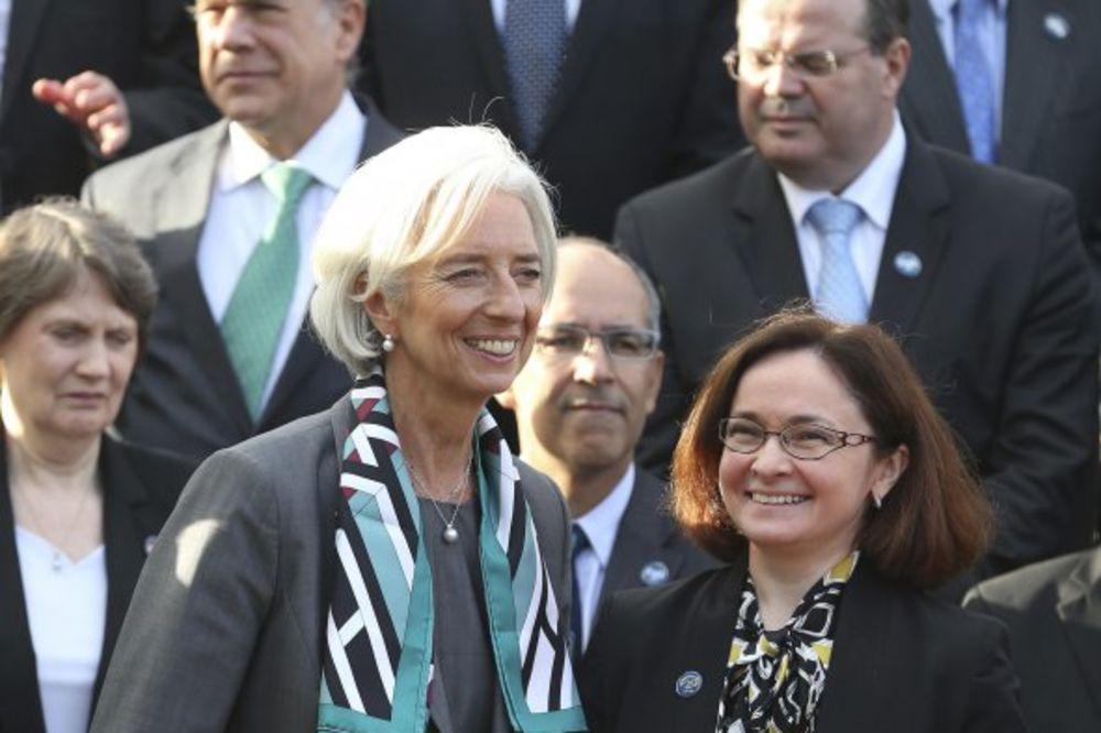Sa direktorkom MMF Kristin Lagard (Foto: AP)