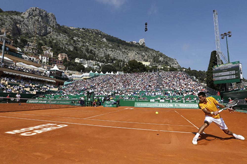 (VIDEO) PRIJA MU ŠLJAKA: Đoković savladao Ramosa-Vinolasa za treće kolo Mastersa u Monte Karlu