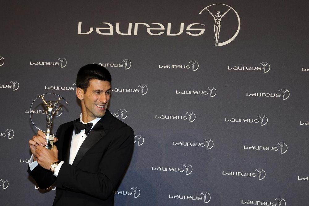 SRBIN OPET NAJBOLJI NA SVETU: Novak Đoković po drugi put dobio nagradu Laureus