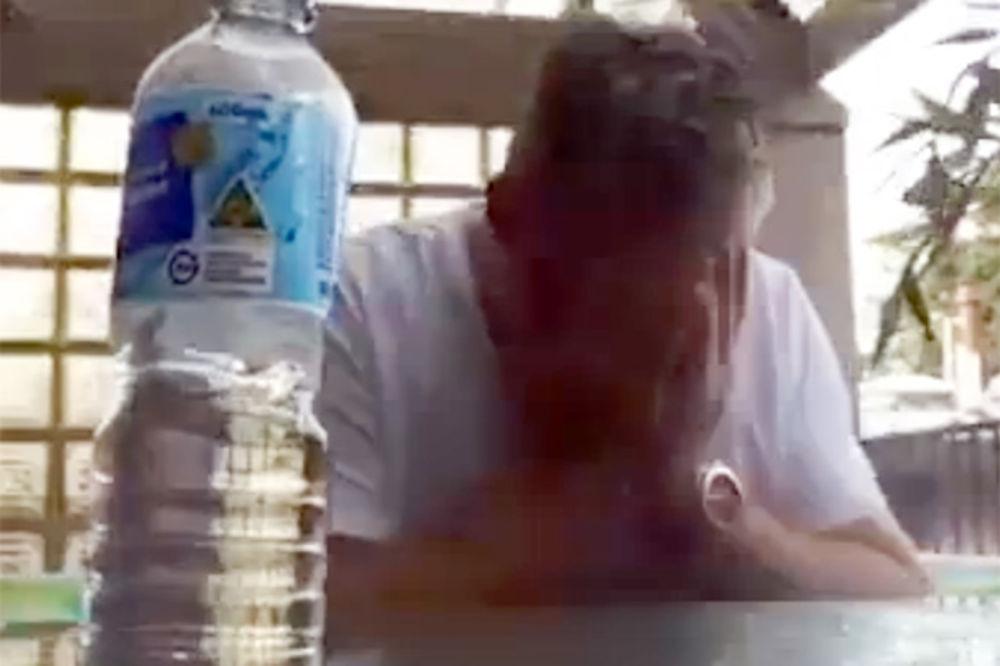 (VIDEO) NESLANA ŠALA: Pogledajte šta je potpuno razbesnelo ovog čoveka!