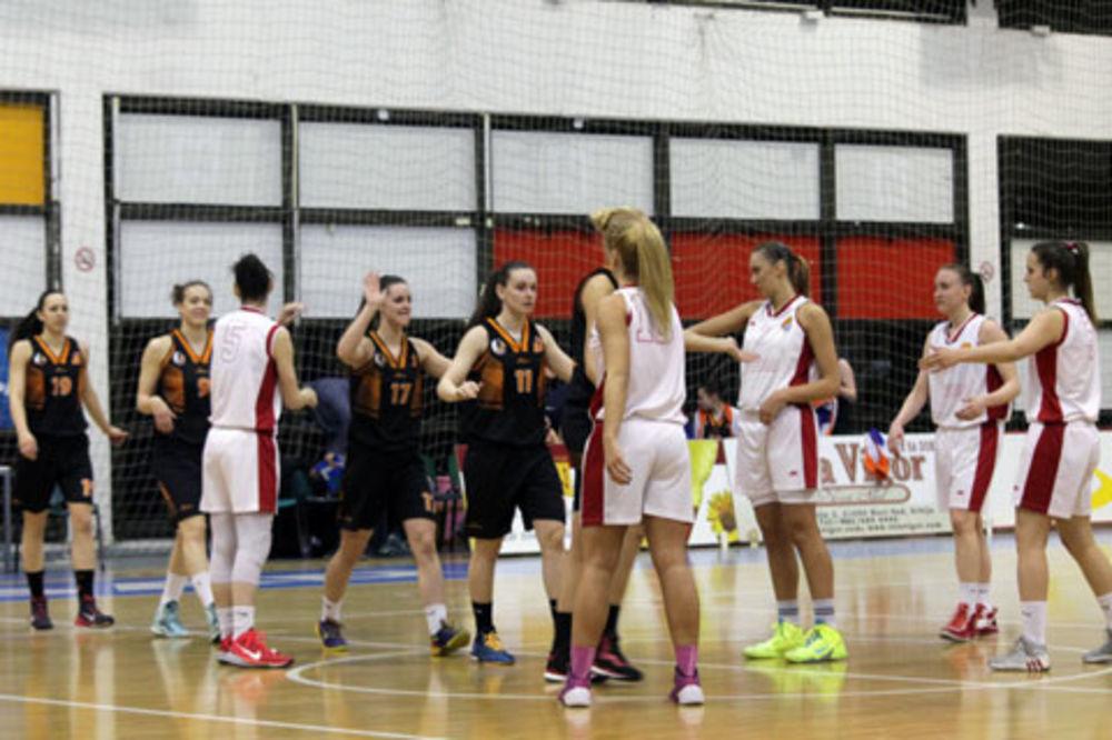 DRUGA TITULA: Košarkašice Radivoja Koraća šampionke Srbije