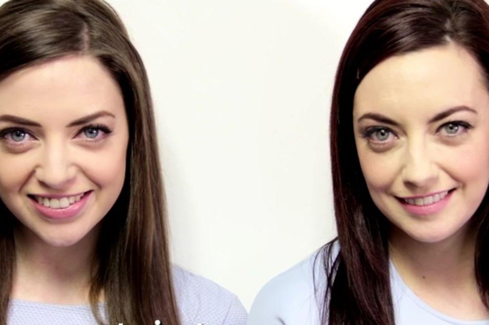 (VIDEO) JEDVA PREŽIVELE ŠOK: U komšiluku upoznala svog klona!