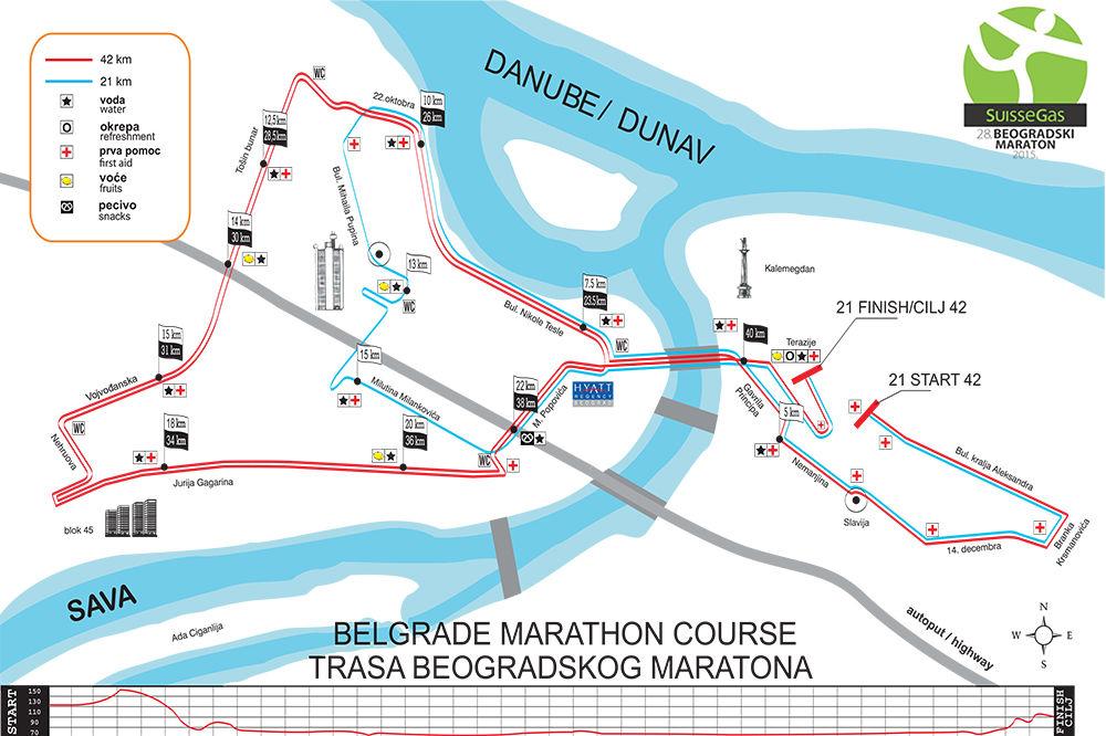 APEL PARKING SERVISA: Vozači uklonite vozila sa trase maratona