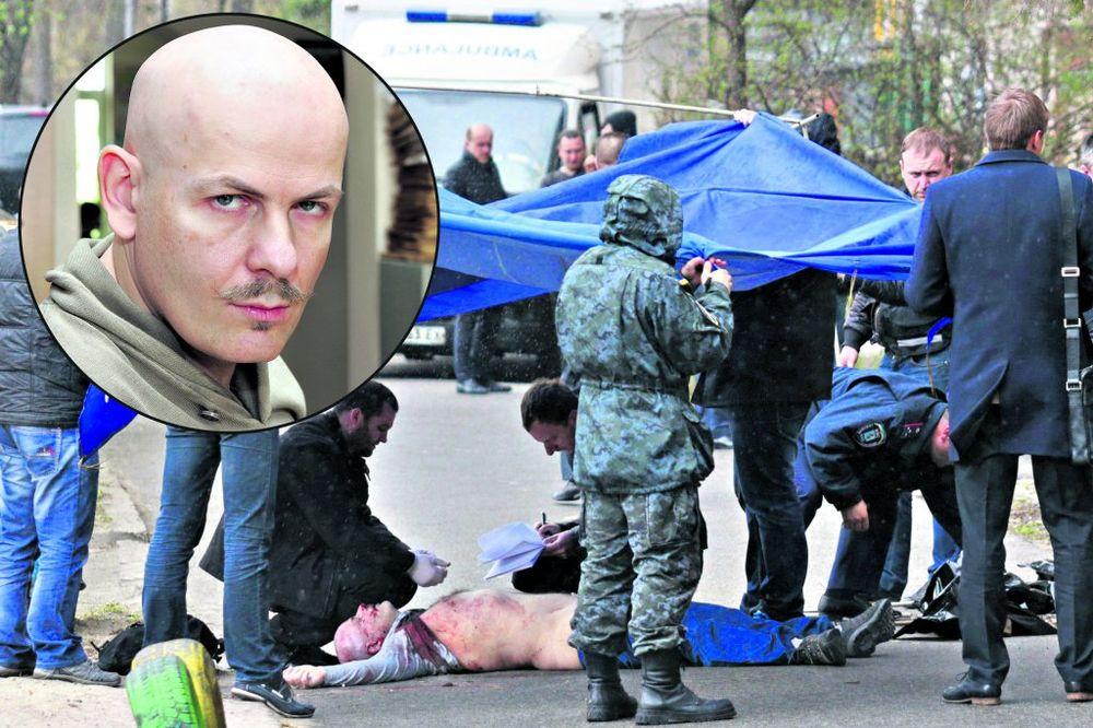 Zločin u Kijevu: Izrešetali novinara jer je podržavao Rusiju!