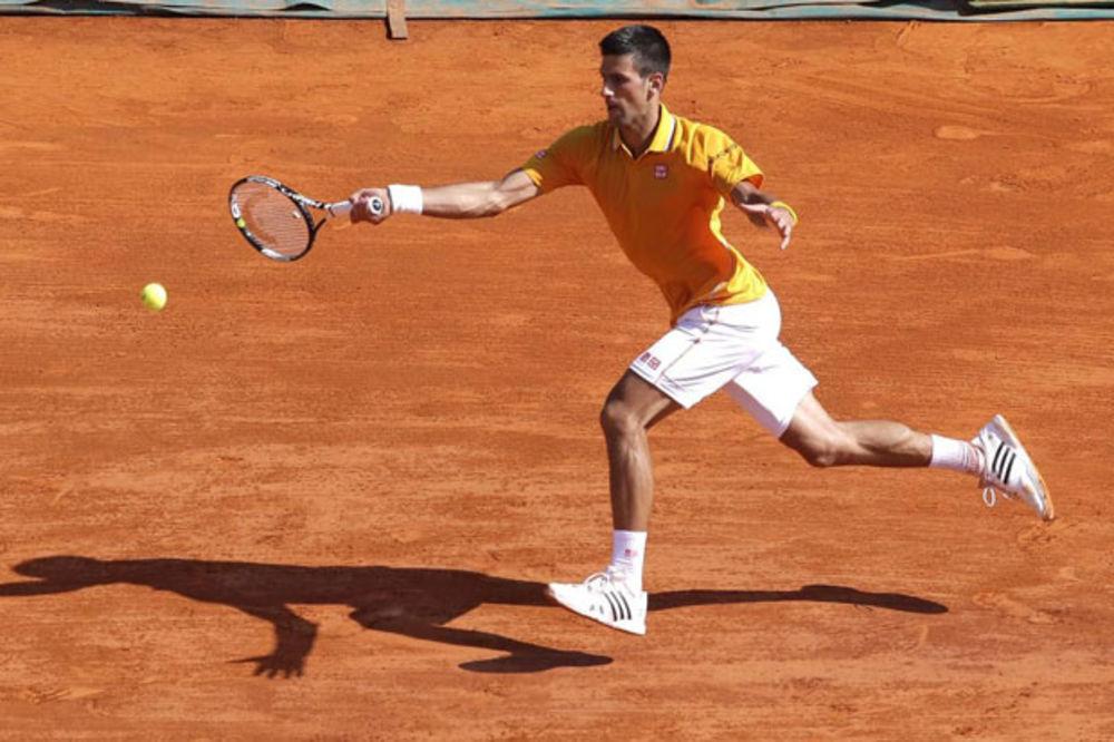 Novak Đoković, Monte Karlo, Foto: Fonet