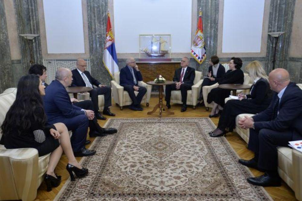 Nikolić Mihalkovu: Srbija se neće odreći prijatelja
