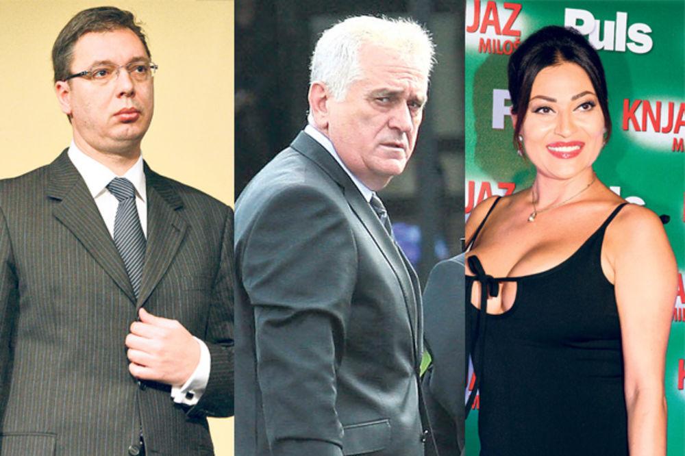 Suđenje Ćuruviji: Vučić, Nikolić i Ceca na sudu?