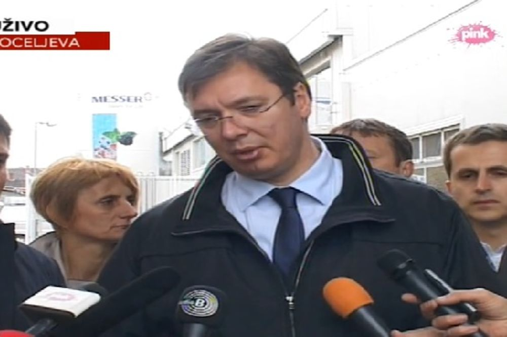 OBNOVE POSLE POPLAVA: Vučić otvorio most kod Koceljeve